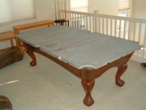 Proper pool table moving process in Tacoma Washington